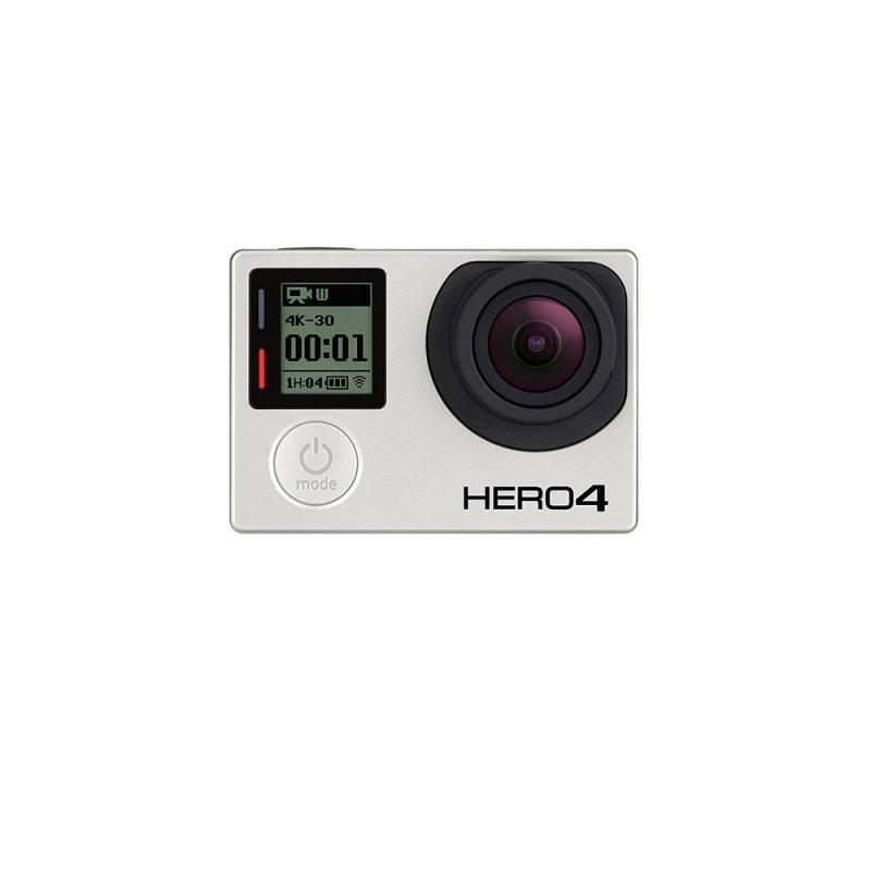 Câmera Filmadora GoPro Hero4 Black Edition 12 MP Gravação 4k Wifi Bluetooth A Prova Dágua Preto CHDHX - 401