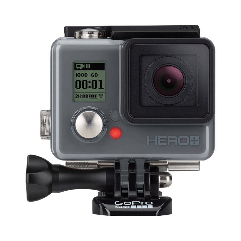 Câmera Digital GoPro Hero Plus Preta à Prova D ´ Água 8.1MP Wifi Bluetooth e Gravação Full HD