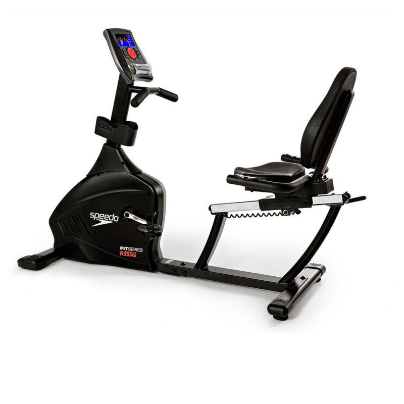 Bicicleta Eletromagnética Speedo R55SG Painel LCD 12 Programas Até 150Kg R55SG