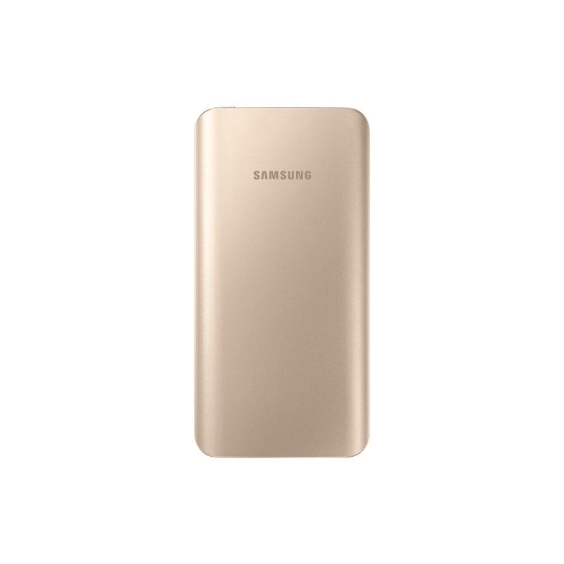 Bateria Externa Samsung 5200MAH Dourada