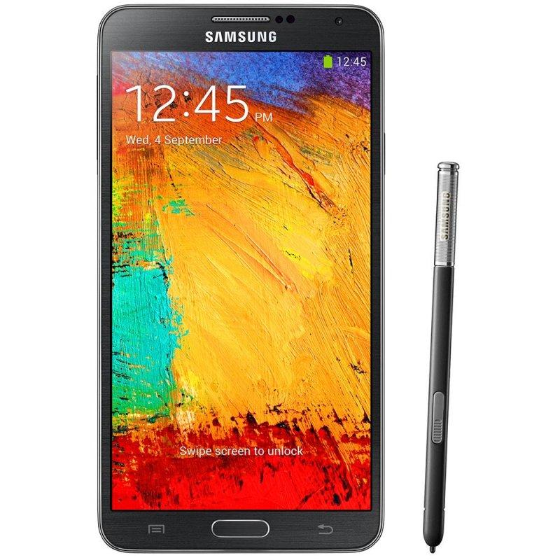 Smartphone Samsung Galaxy Note 3 5.7 ´ Android 4.3 4G 13MP Quad Core Preto / Desbloqueado SM - N9005