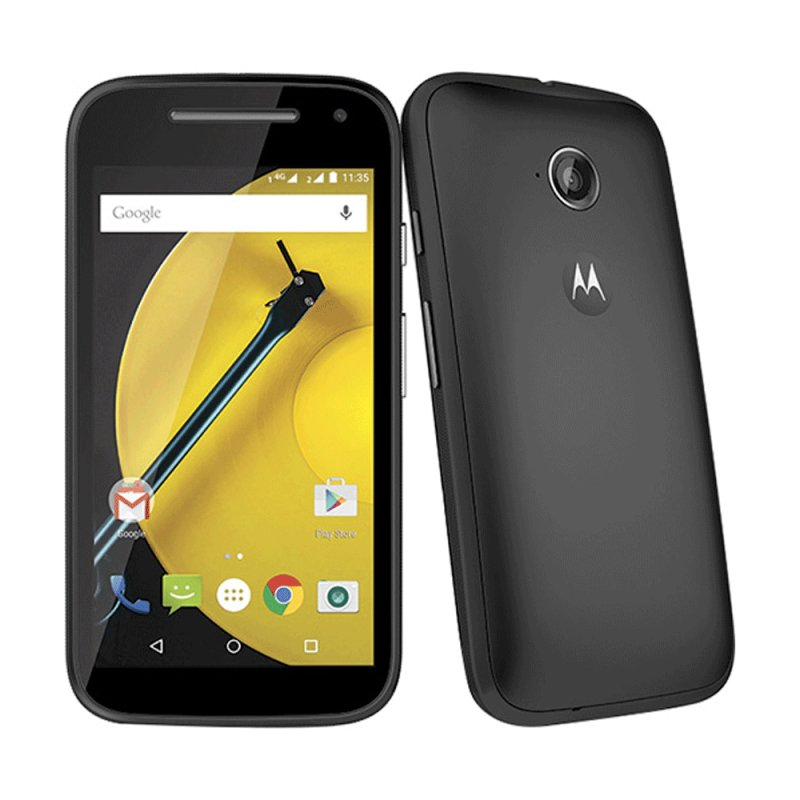Smartphone Motorola Moto E 2ª Geração Colors Dual Chip Desbloqueado Android 5.0 Tela 4.5 Preto / Desbloqueado 92674LYESAF5