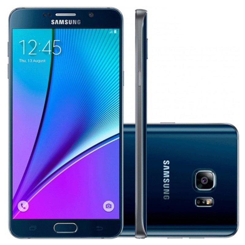Smartphone Samsung Galaxy Note 5 Android 5.1 32GB 16MP 5,7 / Desbloqueado SM - N920GZKAZTO