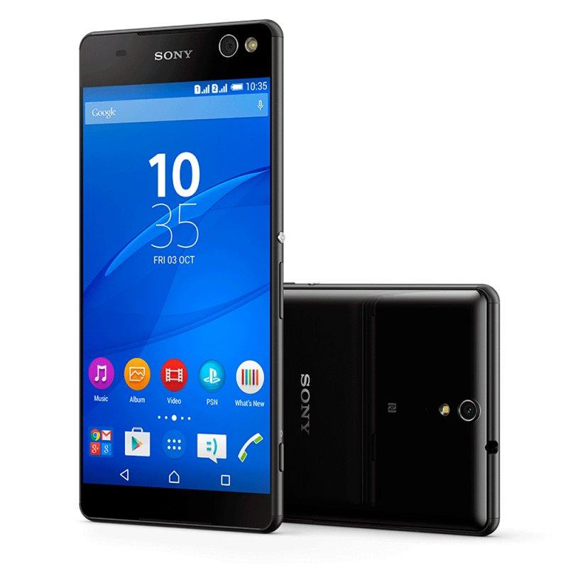 Smartphone Sony Xperia C5 Ultra Dual E5563 6 ´ Full HD Android 5.0 13MP Rádio FM Preto / Desbloqueado E5563 Dual Preto