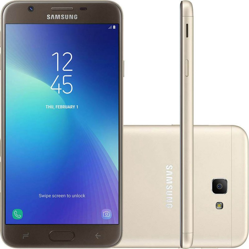 Smartphone Samsung Galaxy J7 Prime 2 Dourado 32gb Dual Chip Com Tv Di