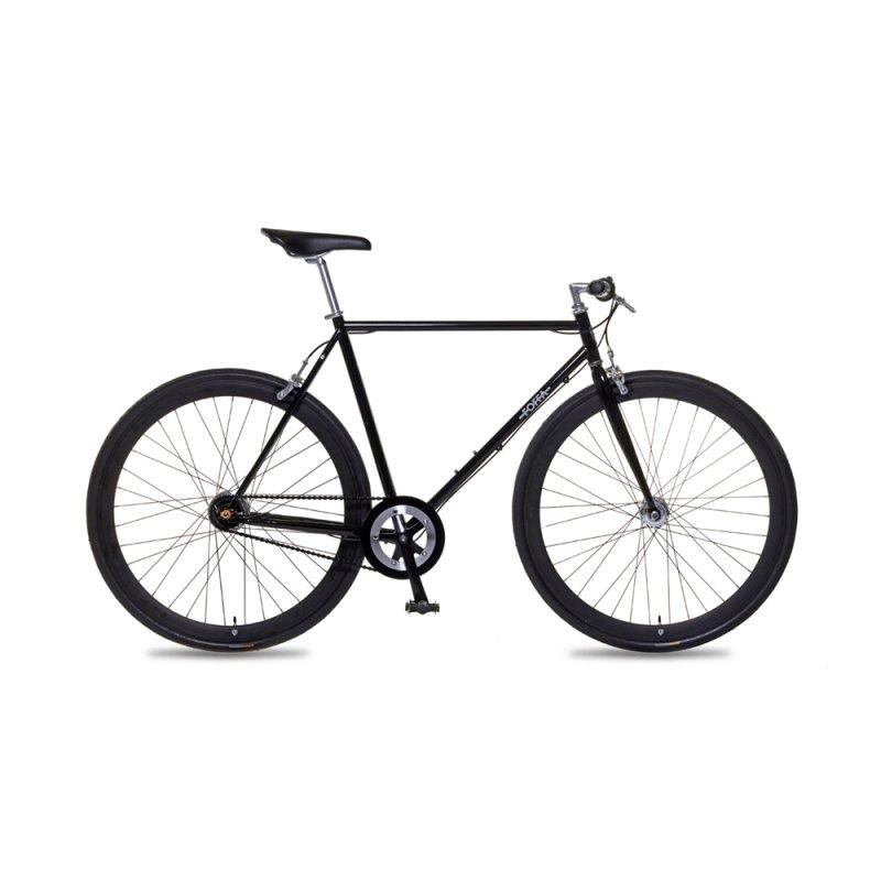 Bicicleta Urban Foffa Bikes P 48cm URBANBLACKS 7 Velocidades Pneu Anti - Furo Preta 15456 - 4A