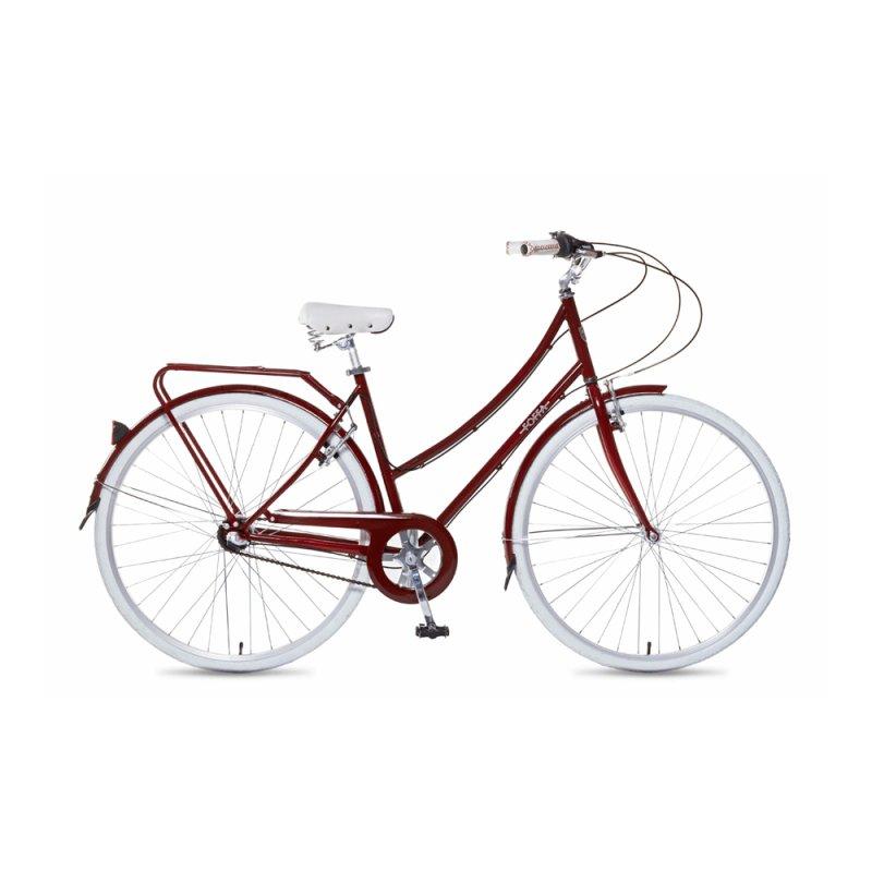 Bicicleta Iris Foffa Bikes M 48cm IRISBURGM 3 Velocidades Vermelha 15456 - 6
