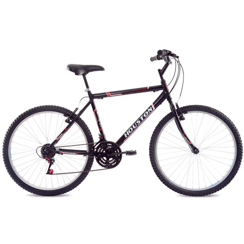 Bicicleta de Passeio Houston Hammer FX26H1N Aro 26 Alumínio Preta FX26H1N