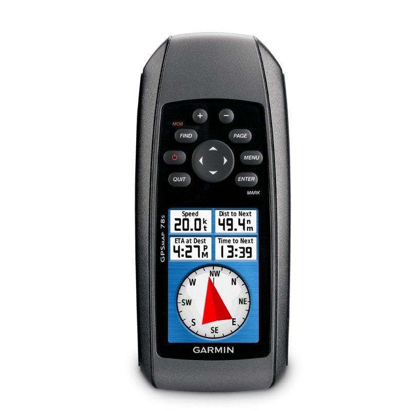 GPS Esportivo Portátil Garmin GPSMAP 78s Preto com 1,7GB de Memória USB e Bússola Eletrônica